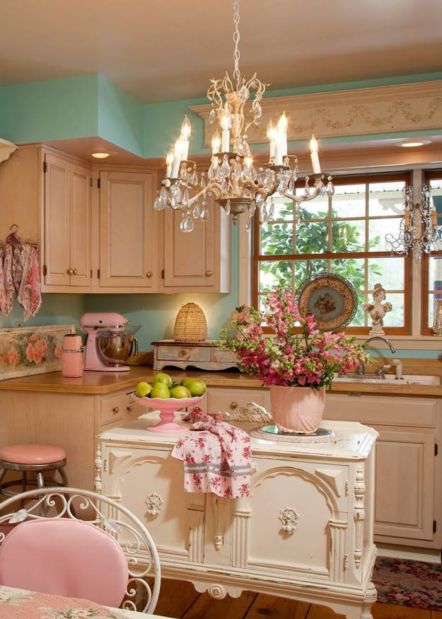 DIY-Shabby-Chic-Decor-Kitchen-Inspiration1