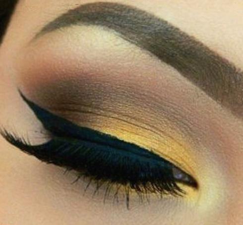 maquillaje dorado-9