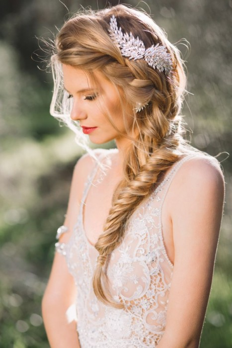 peinados-novia-trenzas - moda ellas