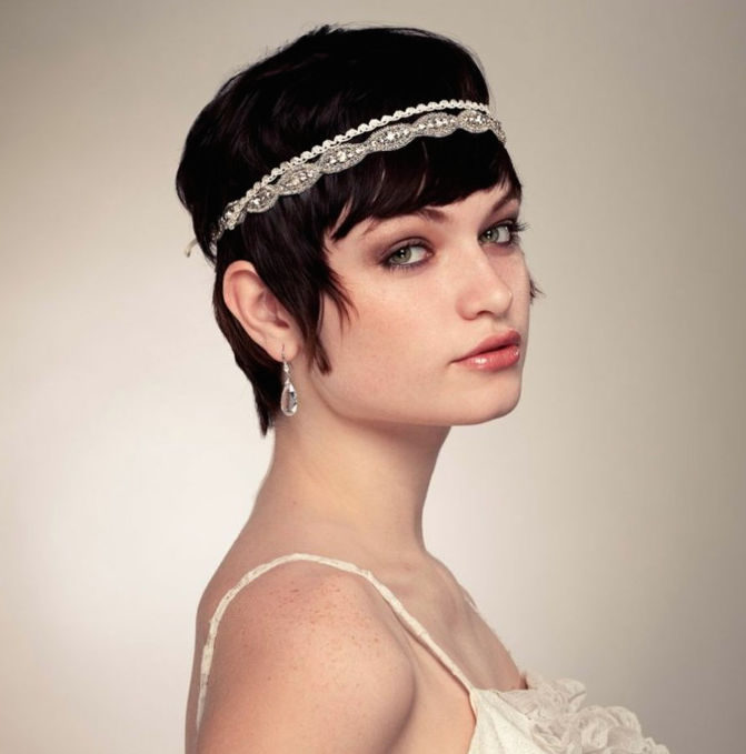 pelo de novia corto