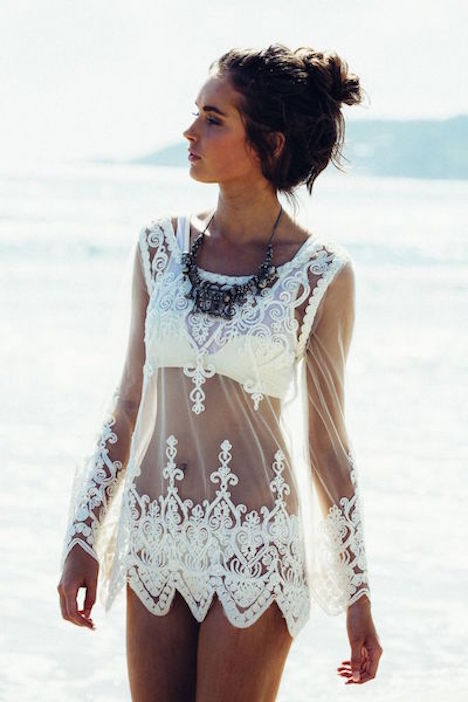 Lace-Coverup