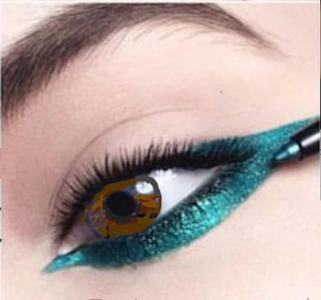 lapiz de ojos metalicos