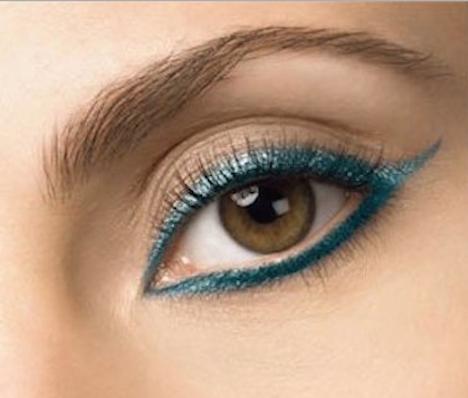 maquillaje para ojos color miel