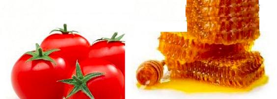 masacarilla de tomate y miel