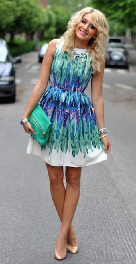 vestido sin mangas