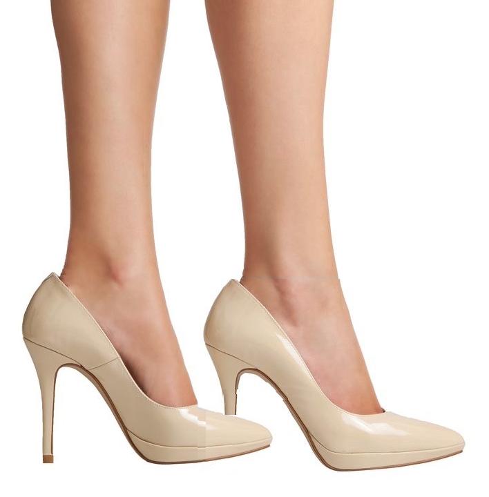 zapatos marfil