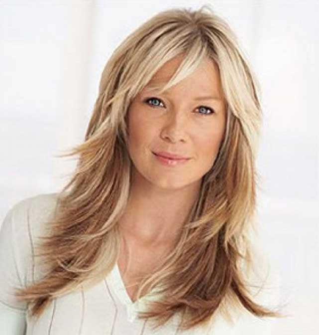 Long Layered Hairstyles Women Over 50