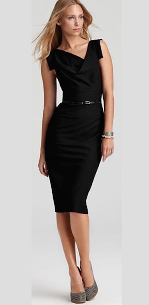 el vestido negro