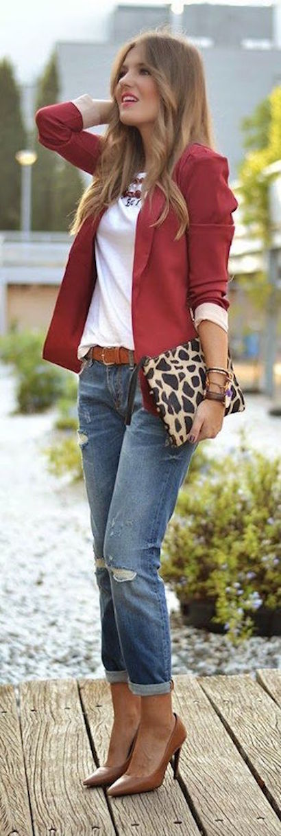 jeans cn blazer
