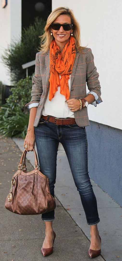 jeans con estilo
