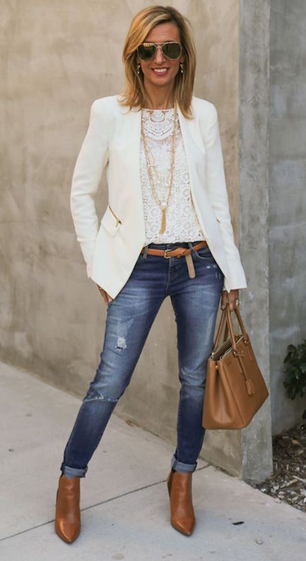 jeans elegantes-