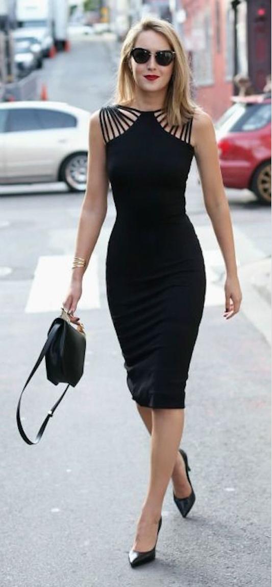 vestido corto de coctel