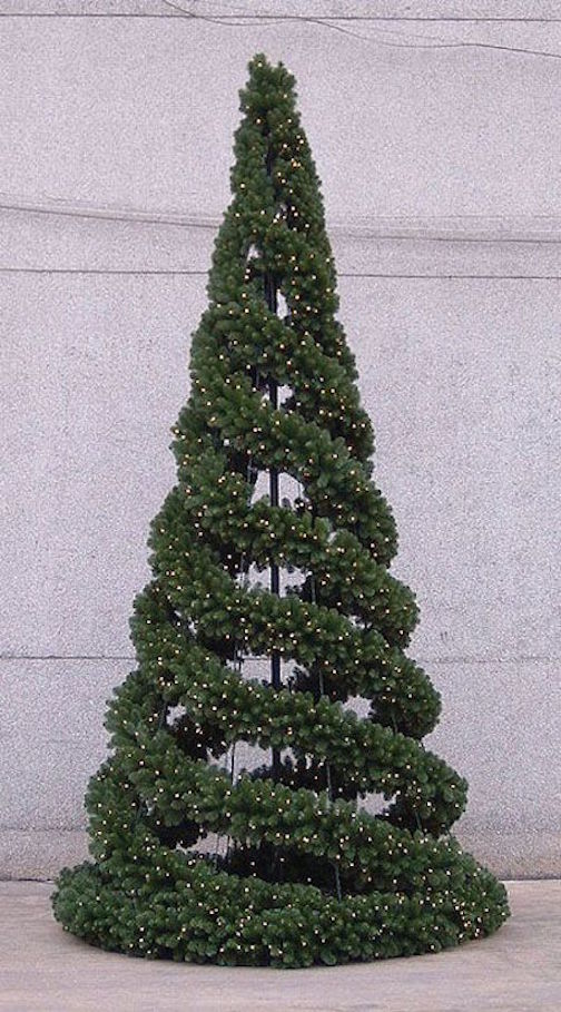 40 ideas para rboles de navidad peque os y diferentes - Arboles de navidad diferentes ...