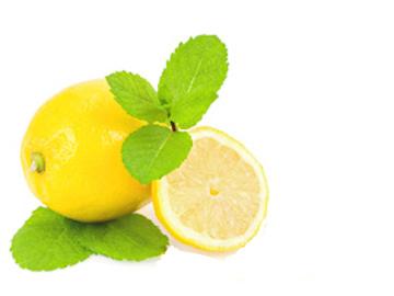 cubos de limon congelado