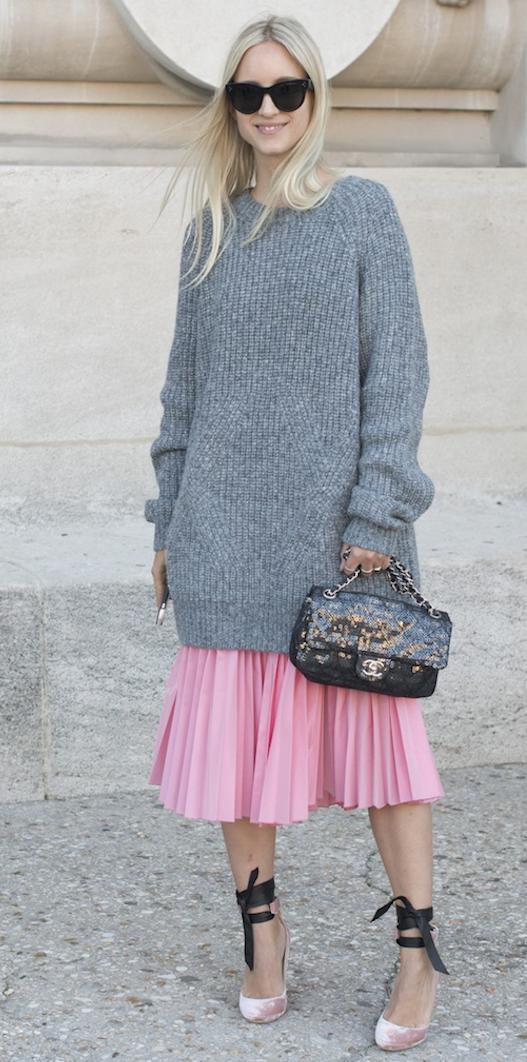 falda plisada-s