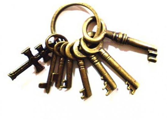 llaves como amuletos