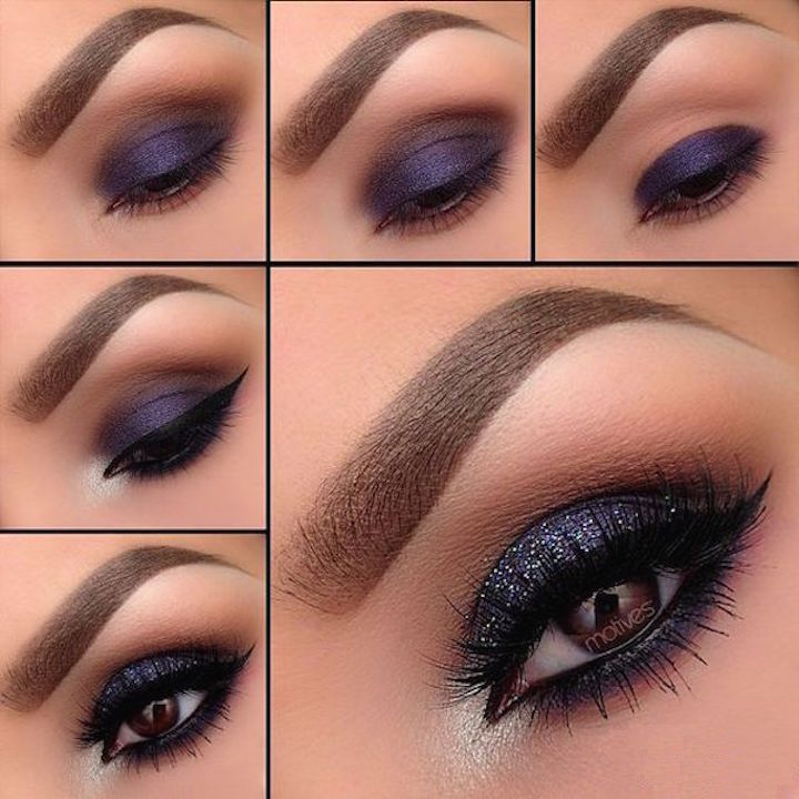 sombra color gris