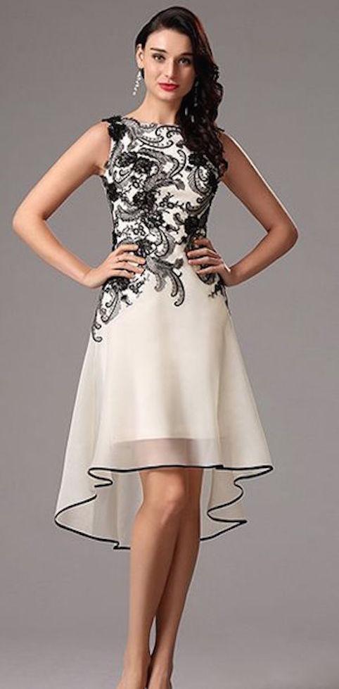 Lo mas nuevo en vestidos de noche cortos