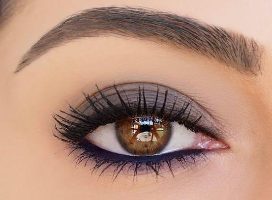maquillaje ojos cafes