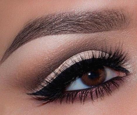 maquillaje ojos marrones-z
