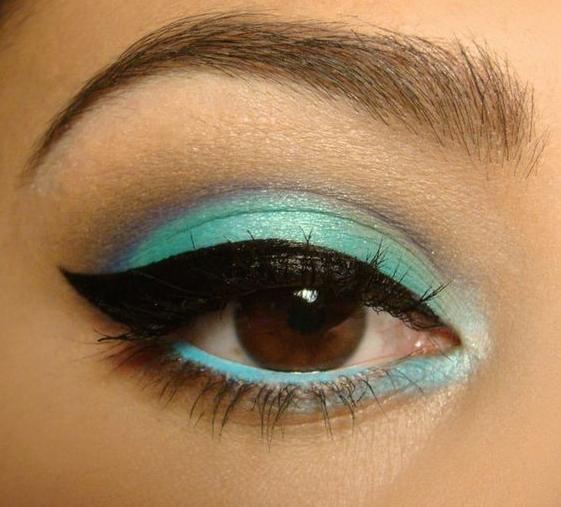 sombra de ojos verde