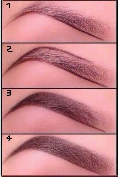 tutorial para pintar cejas