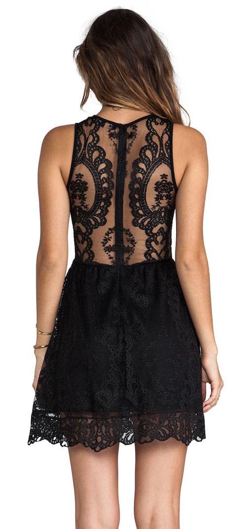 vestido negro de noche-0