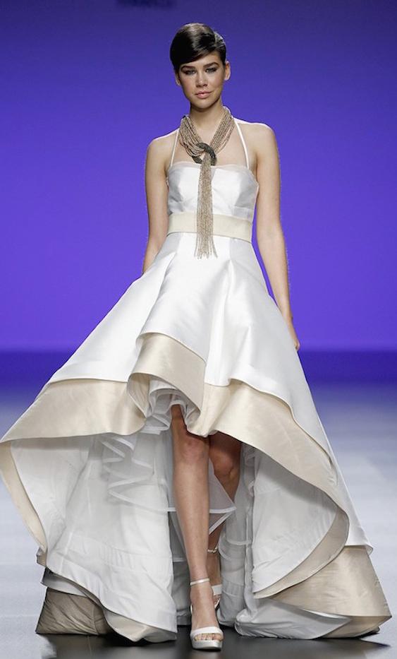 35 vestidos cortos de novia, elegantes, modernos y chic - Mujer Chic