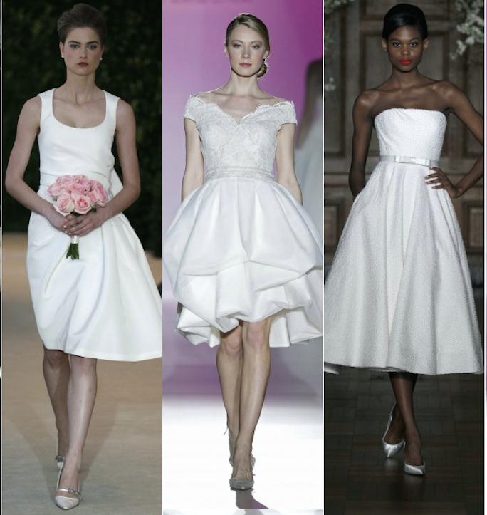 278d3c9f6 35 vestidos cortos de novia