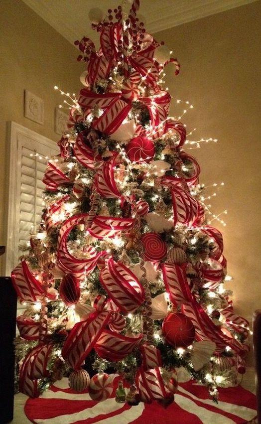 50 Hermosas Ideas Para Decorar Tu 225 Rbol De Navidad En