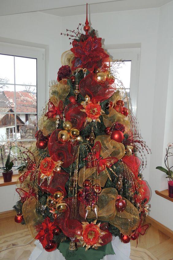 50 hermosas ideas para decorar tu rbol de navidad en