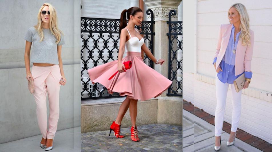 El Rosa Palo Un Color Femenino Y Elegante Que Arrasa Estos Días Mujer Chic