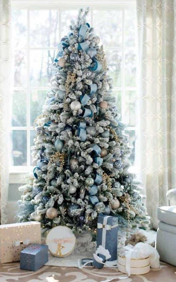 50 Hermosas Ideas Para Decorar Tu árbol De Navidad En
