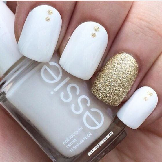 Uñas Color Blanco Archives Mujer Chic