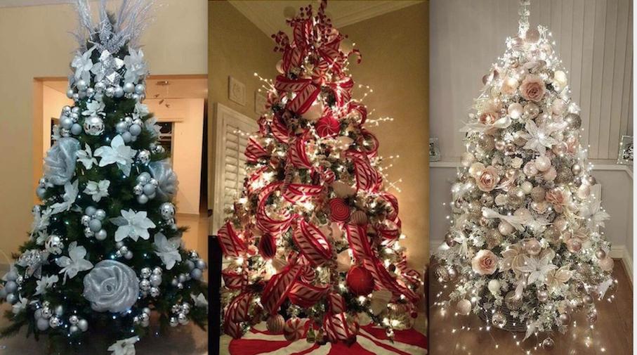 Decorar El Arbol Con Cintas.50 Hermosas Ideas Para Decorar Tu Arbol De Navidad En